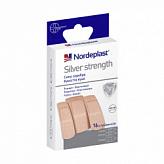 Нордепласт набор пластырей медицинских сильвер стренч эластичный 3-х размеров 16 шт.