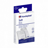 Нордепласт набор пластырей медицинских софт мягкие нетканые 3-х размеров 18 шт.
