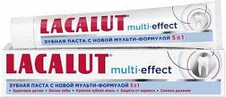Лакалют мульти-эффект зубная паста 75мл