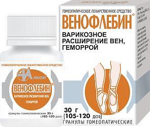 Венофлебин 30г гранулы гомеопатические