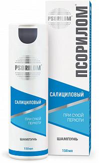 Псорилом шампунь салициловый от/сухой перхоти 150мл фратти