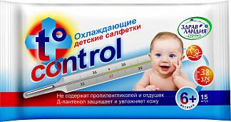 Страна здравландия салфетки влажные охлаждающие т-контрол 15 шт.