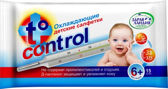 Страна здравландия салфетки влажные охлаждающие т-контрол 15 шт., фото №1
