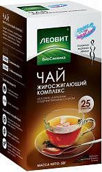 Леовит биослимика чай похудин жиросжигающий комплекс 2г 25 шт. фильтр-пакет