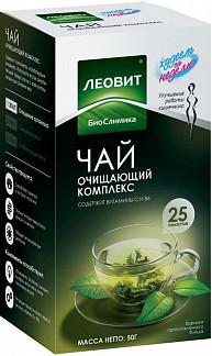 Леовит биослимика чай похудин очищающий комплекс 2г n25 ф/п