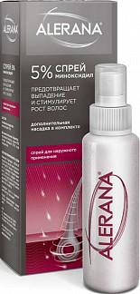 Алерана 5% 60мл спрей для наружного применения