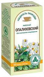 Фиточай щедрость природы опалиховский 2г 20 шт.