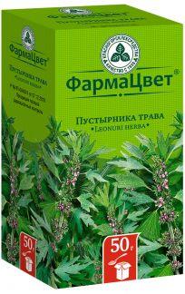 Пустырника трава 50г сырье растительное измельченное