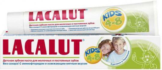 Лакалют кидс зубная паста детская 4-8 лет 50мл, фото №1