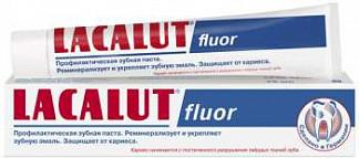 Лакалют флуор зубная паста 75мл