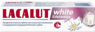 Лакалют вайт зубная паста эдельвейс 75мл