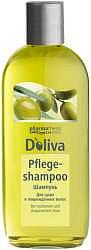 Долива шампунь для сухих и поврежденных волос с оливковым маслом 200мл