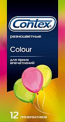 Контекс презервативы колор 12 шт.