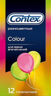 Контекс презервативы колор n12