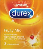 Дюрекс презервативы селект (фрути микс) n3