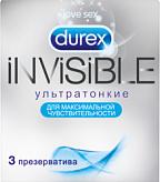 Дюрекс презервативы инвизибл n3