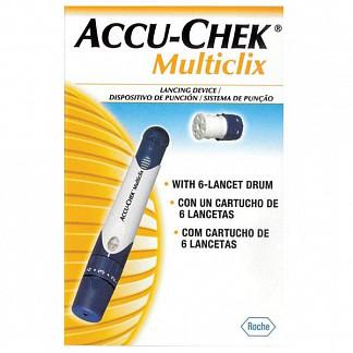 Акку-чек мультикликс устройство для прокалывания кожи