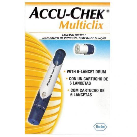 Акку-чек мультикликс устройство для прокалывания кожи, фото №1