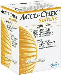 Акку-чек софткликс ланцеты 200 шт.