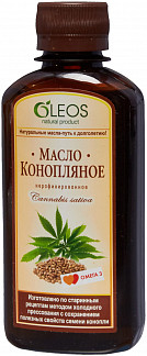 Олеос масло пищевое конопляное (питание) 200мл