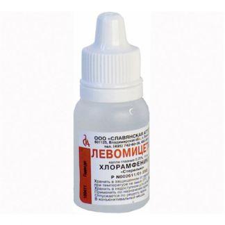 Левомицетин 0,25% 5мл капли глазные фл.-капельница татхимфарм