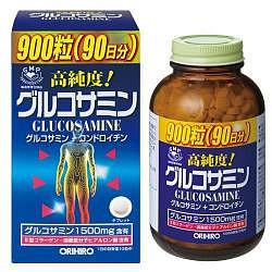 Орихиро глюкозамин с хондроитином и витаминами таблетки 900 шт.