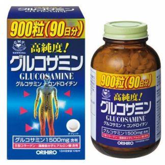 Орихиро глюкозамин с хондроитином и витаминами таб. n900