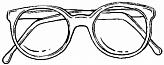 Очки компьютерные металл