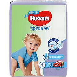 Хаггис трусики-подгузники для мальчиков 4 (9-14кг) 17 шт.