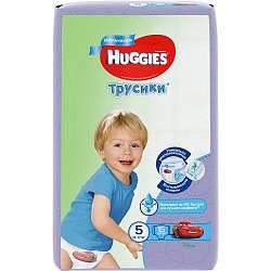 Хаггис трусики-подгузники для мальчиков 5 (13-17кг) 15 шт.