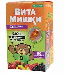Кидс формула витамишки био+ пастилки жевательные 60 шт.