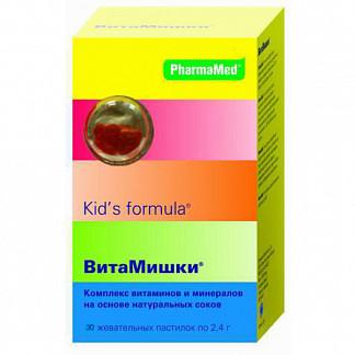 Кидс формула витамишки пастилки жевательные 30 шт.