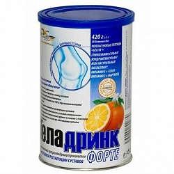 Геладринк форте апельсин 420г