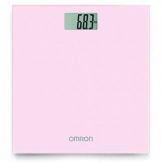 Омрон весы цифровые hn-289-eb розовые