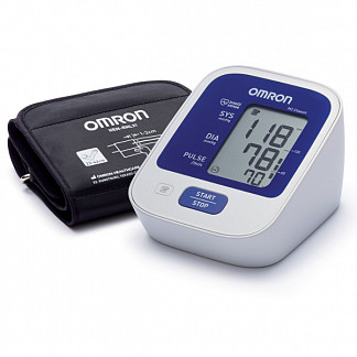 Омрон тонометр автоматический на плечо m2 классик усовершенствованный с универсальной манжетой и адаптером (арт.hem-7122-alru) omron healthcare co. lt