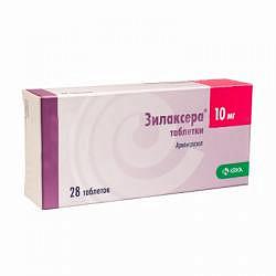 Зилаксера 10мг 28 шт. таблетки