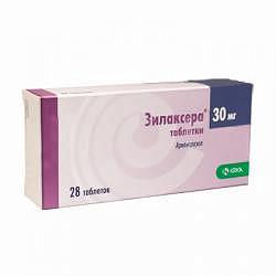 Зилаксера 30мг 28 шт. таблетки