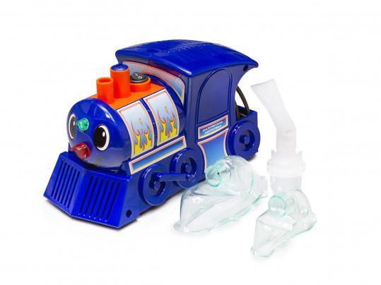 Амрус ингалятор компрессорный amnb-502 для детей паровозик здоровья, фото №1