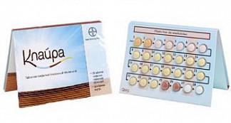 Клайра 28 шт. таблетки покрытые пленочной оболочкой