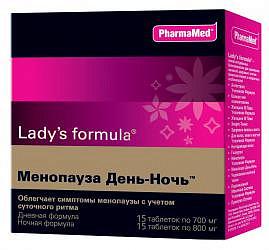 Леди'с формула менопауза день - ночь таблетки n15+15