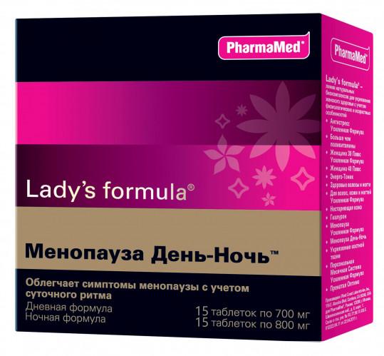 Леди'с формула менопауза день - ночь таблетки n15+15, фото №1