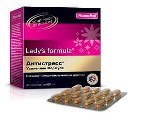 Леди'с формула антистресс усиленная формула таблетки 30 шт.