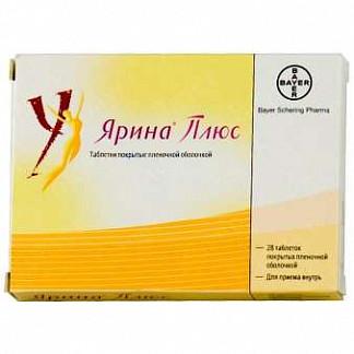 Ярина плюс 28 шт. таблетки покрытые пленочной оболочкой