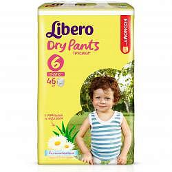 Либеро драй пэнтс подгузники-трусы экстра ладж 13-20кг 46 шт.