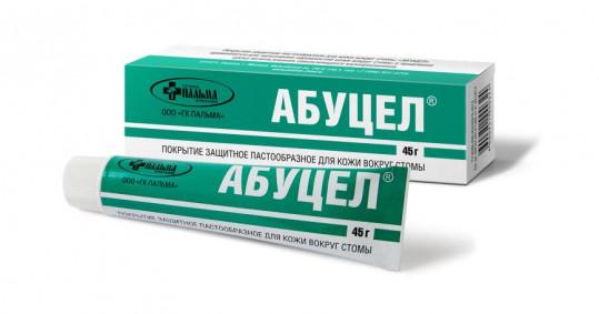 Абуцел покрытие защитное пастообразное для стомы 45г, фото №1