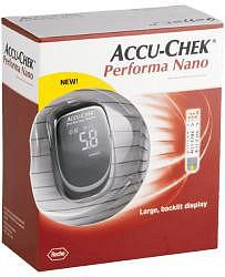 Акку-чек перформа нано глюкометр набор
