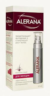 Алерана бальзам-спрей для роста волос для женщин 50мл