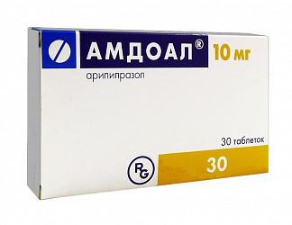 Амдоал 10мг 30 шт. таблетки