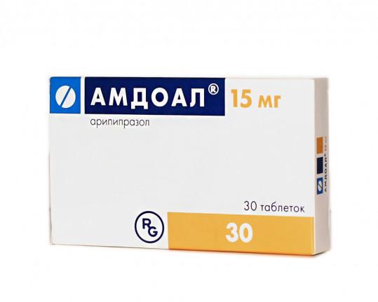 Амдоал 15мг 30 шт. таблетки, фото №1