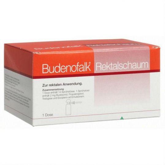 Буденофальк 2мг/доза 14 шт. пена для ректального применения, фото №1